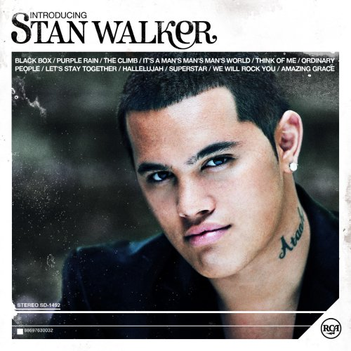 Anywhere But Here Album Cover. Stan Walker_Album Cover