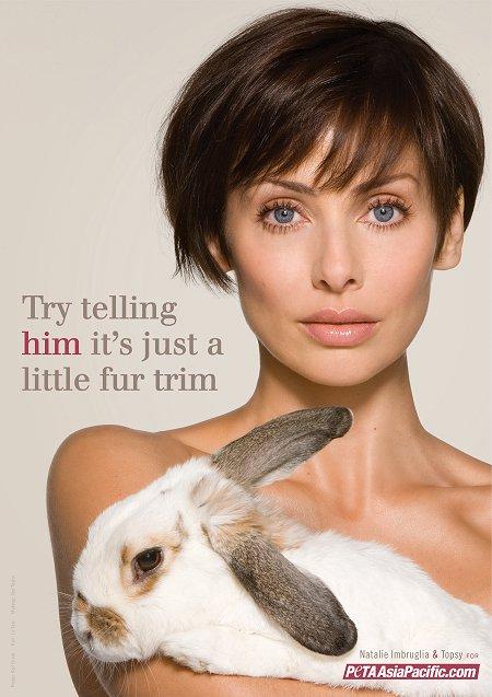 Natalie Imbruglia PETA ad